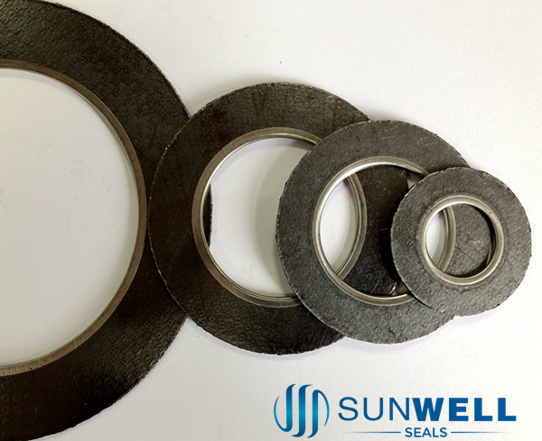 Graphite Gasket with Eyelets One Piece