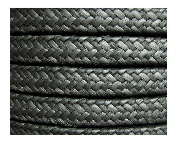 Graphite Spun Aramid Fiber Packing